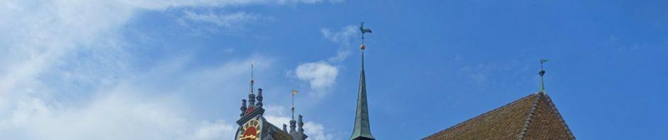Aarau_reformierte_Kirche, Hahn