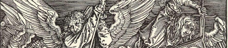 DürerApocalipsisMichaelsKampfmitdemDrachenA